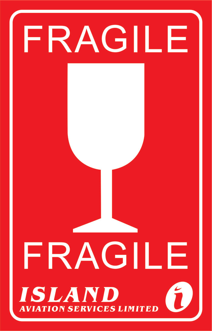 It is a photo of Unforgettable Fragile Stickers Printable